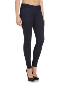Levi's The Rocker skinny low waist jean in coated rinse
