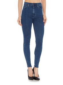 Levi's Rebel high wasit skinny in trespasser blue