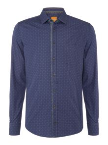 Hugo Boss EslimE all over paisley print shirt