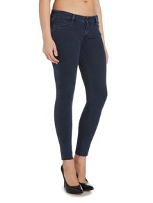 Levi's The Rocker skinny low waist jean in birdie blue