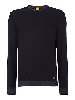 Amindo lambswool crew neck jumper