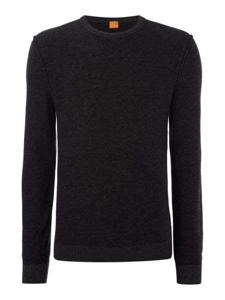 Hugo Boss Amindo lambswool crew neck jumper