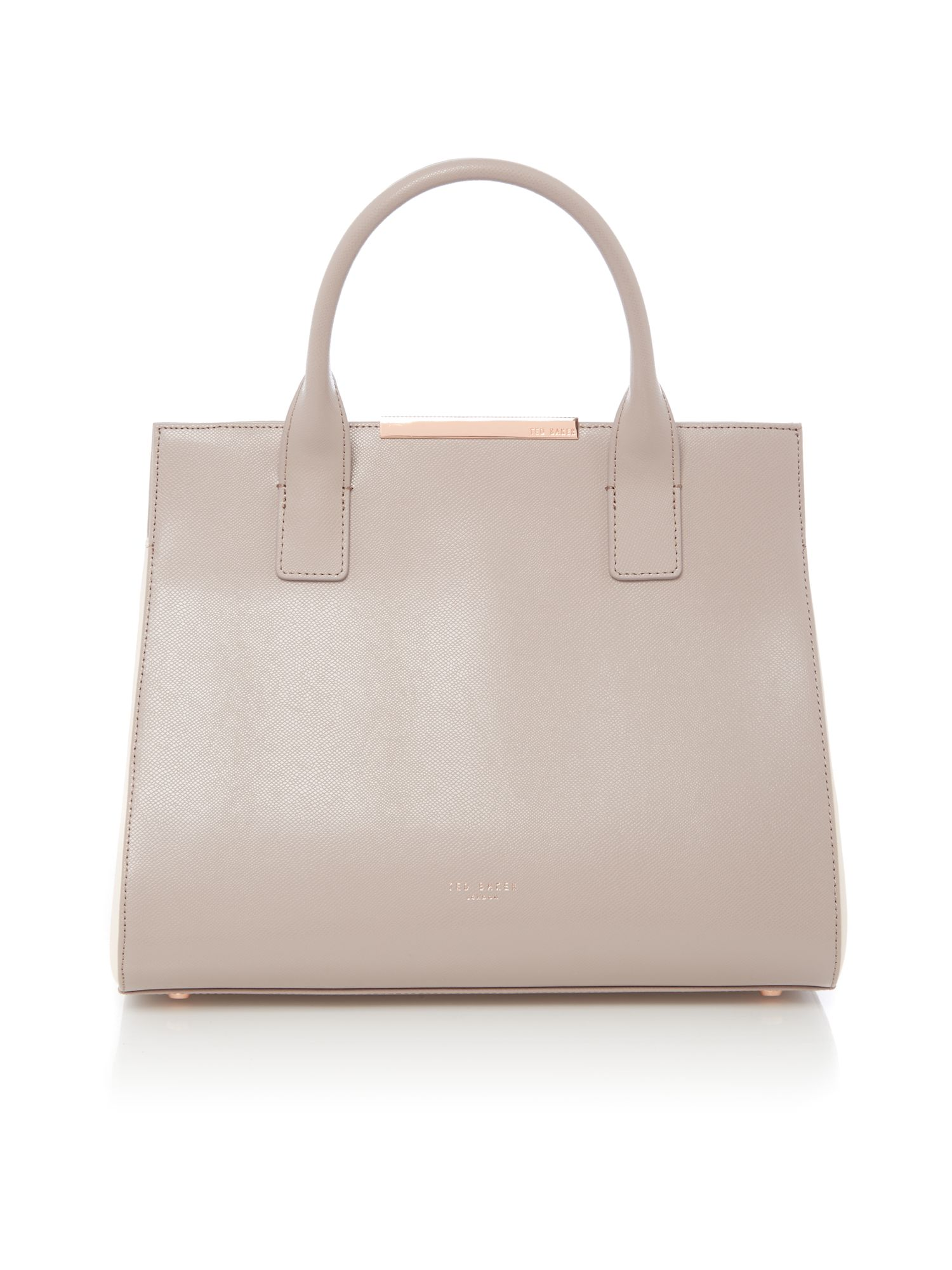 Ted Baker Cecilia saffiano tote bag Neutral