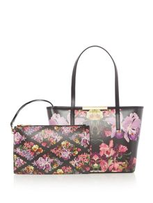 Ted Baker Doloris small floral tote bag
