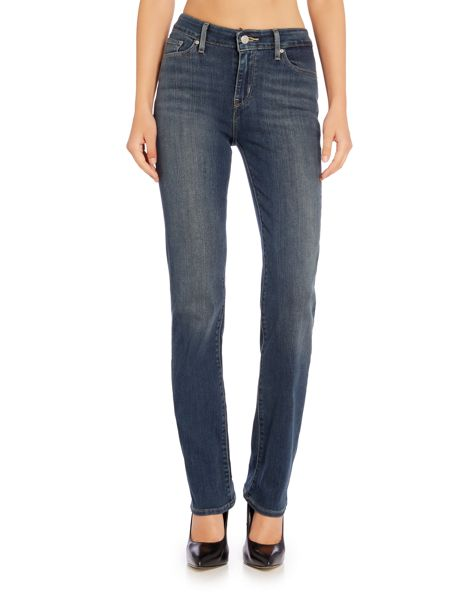 Levi's 714 straight leg jean in juniper sea