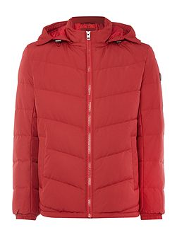 Owillem downfilled hooded jacket