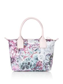 Ted Baker Irie nylon floral tote bag