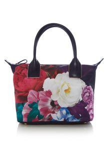 Ted Baker Phay nylon floral tote bag