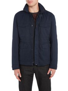 Hugo Boss Ojett 4 pocket brushed cotton field jacket