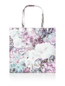 Ted Baker Lumicon large floral bowcon bag