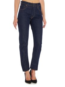 Levi's High rise straight leg jean in elvis