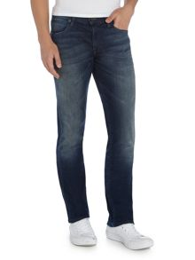Hugo Boss Orange 24 regular fit dirty wash jeans