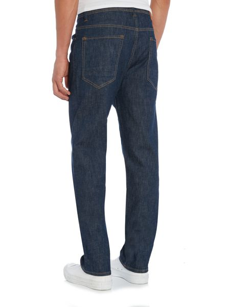 Hugo Boss Orange 39 relax fit dark wash jeans