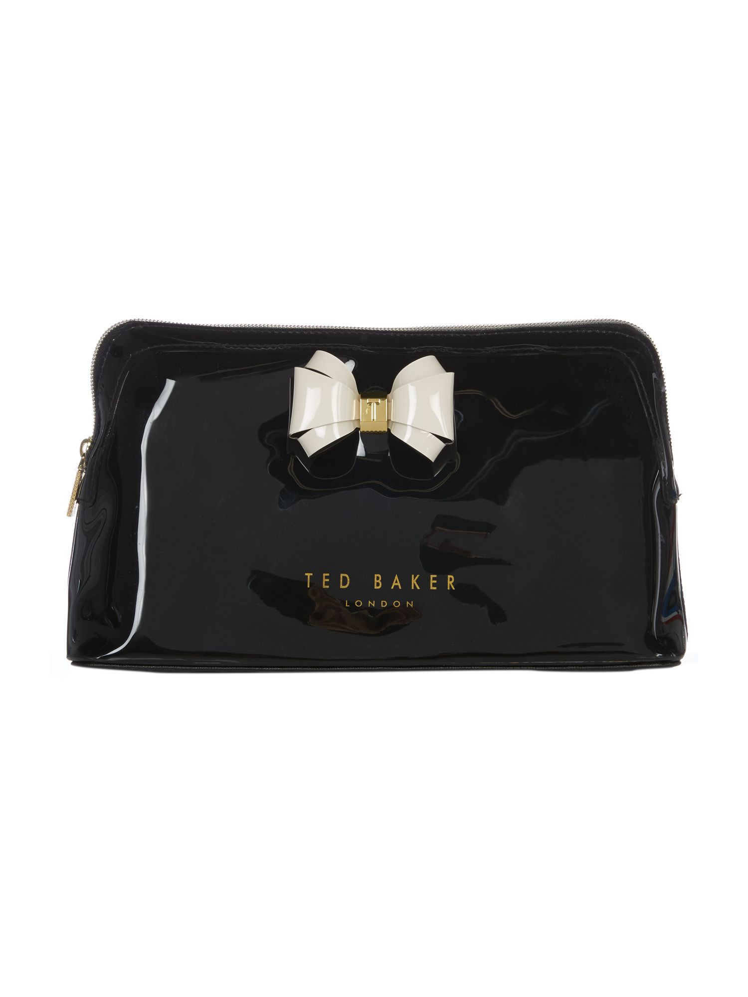 Ted Baker Abbie large cosmetic bag Black