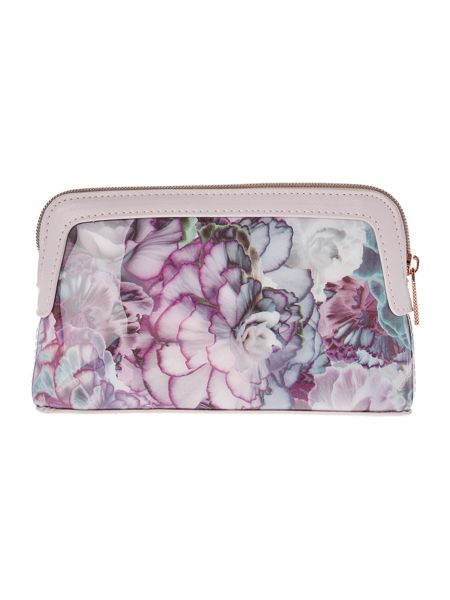 Ted Baker Florisa medium cosmetic bag