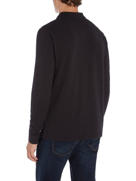 Hugo Boss Phlash long sleeve logo polo