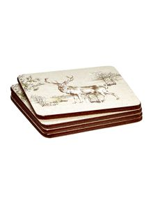 Linea Highlands coasters Set Of 4
