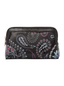 Ted Baker Elden red trinkets cosmetic bag