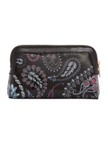 Ted Baker Ithine black trinkets makeup bag