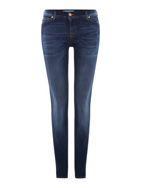 7 For All Mankind Roxanne slim fit mid rise jean