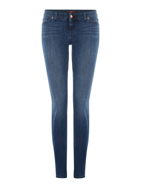 7 For All Mankind Cristen mid rise skinny jean