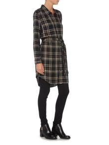 Maison De Nimes Check Shirt Dress