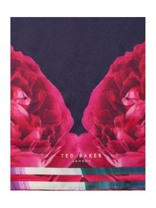 Ted Baker Blushing Bouquet long silk scarf