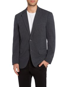 Polo Ralph Lauren Cotton-Blend Interlock-Jersey Blazer