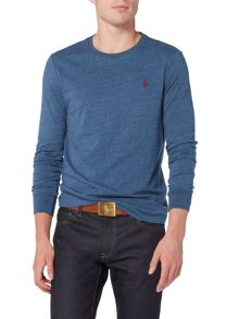 Polo Ralph Lauren Custom Fit Crew Neck Long Sleeve T-Shirt