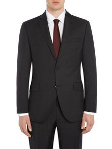 Corsivo Como Italian Wool Textured Suit Jacket