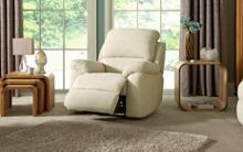 La-Z-Boy Sophia Fabric Power Recliner Chair