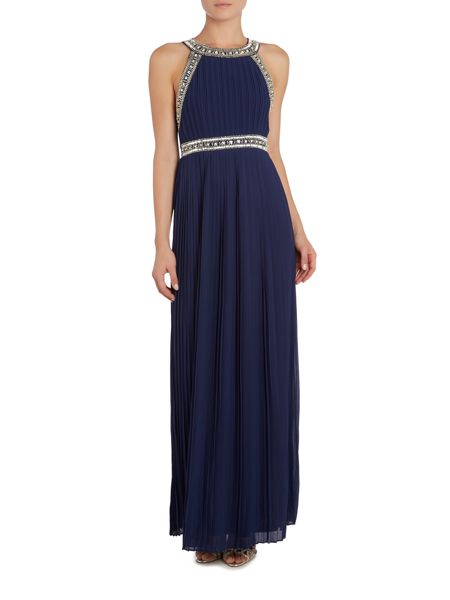 tfnc Sleeveless V Neck Maxi Dress