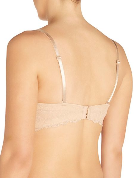 Calvin Klein Seductive comfort with lace strapless multiway