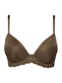 Calvin Klein Seductive comfort with lace demi multiway bra