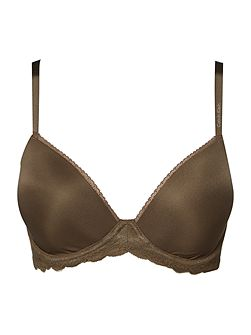 Seductive comfort with lace demi multiway bra
