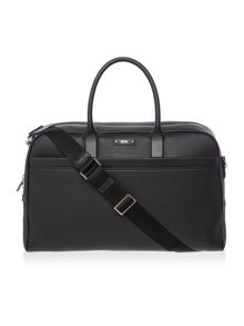Hugo Boss Front Compartment Leather Holdall