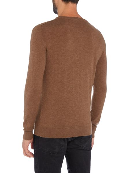 Selected Homme Crew Neck Merino Knitted Jumper