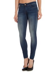 Salsa Collete skinny jean in denim mid wash