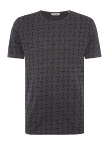 Only & Sons All Over Print Short Sleeve T-shirt