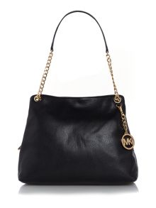 Michael Kors Jetset item black chain shoulder tote