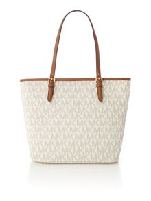 Michael Kors Jetset item neutral large pocket tote bag