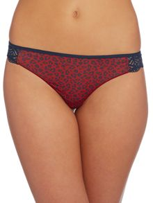 Tommy Hilfiger Microfibre thong invisible print