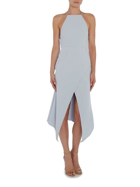 Talulah Sleeveless Asymetric Fitted Dress