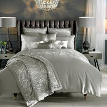 Kylie Minogue Celino silver square pillowcase