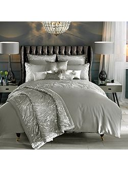 Celino silver square pillowcase