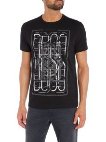 Hugo Boss Large boss graphic print t shirt
