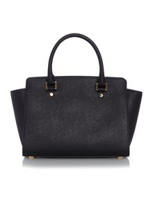 Michael Kors Selma black medium tote
