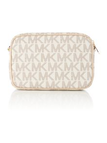 Michael Kors  Jetset item neutral small cross body bag