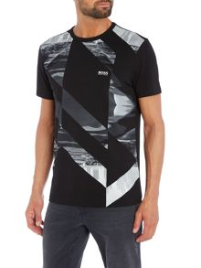 Hugo Boss Golf abstract design t shirt
