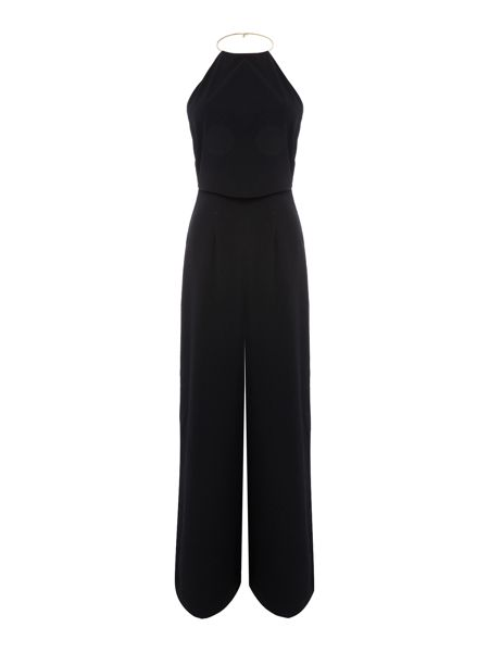 Keepsake Sleeveless Chain Strap Jumpsuit